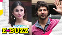 Mouni Roy Dubs for New Film, Varun Dhawan Works Out