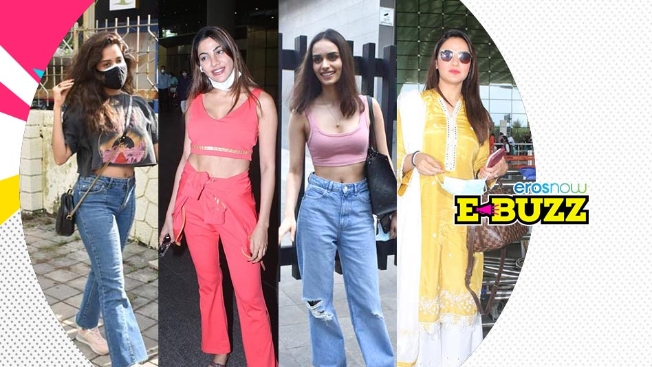 Watch E Buzz - Hrithik Roshan, Mira Rajput & Ameesha Patel Clicked on Eros Now