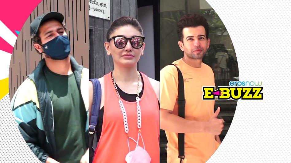 Watch E Buzz - Vicky Kaushal, Janhvi Kapoor & Rakhi Sawant Sweat It Out on Eros Now