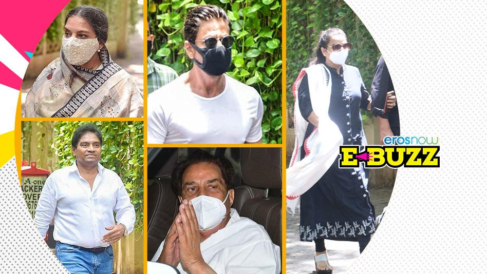 Watch E Buzz - Watch Celebrities & Politicians Attend The Funeral of Superstar Dilip Kumar on Eros Now