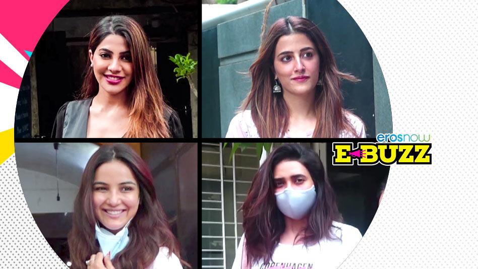 Watch E Buzz - Sunny Leone, Jasmin Bhasin, Arjun Kapoor and his Sisters Clicked on Eros Now