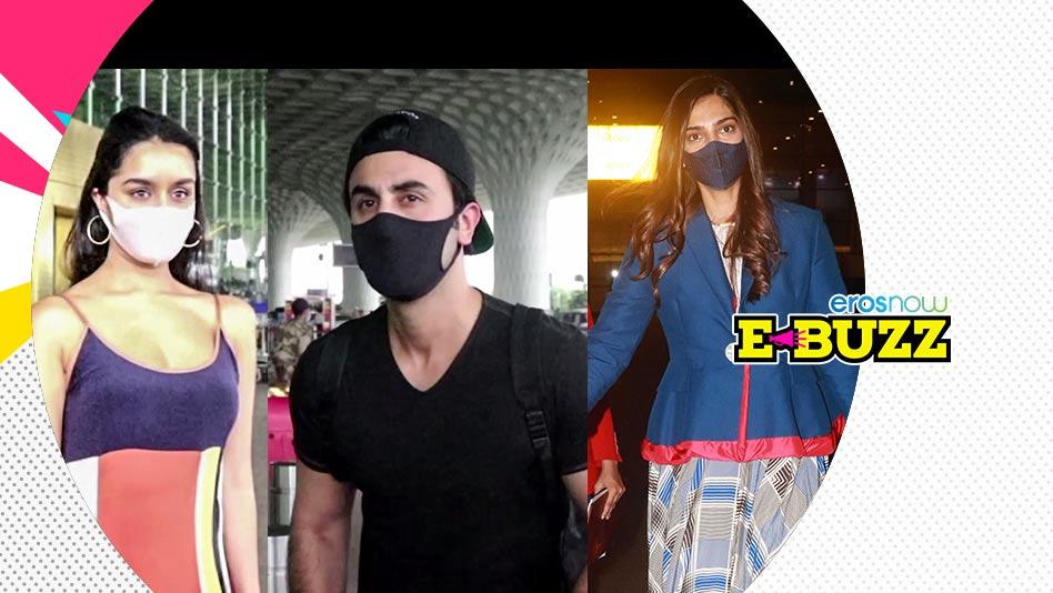 Watch E Buzz - Ranbir, Shraddha, Sonam, Dimple & Hindustani Bhau Spotted at the Airport on Eros Now