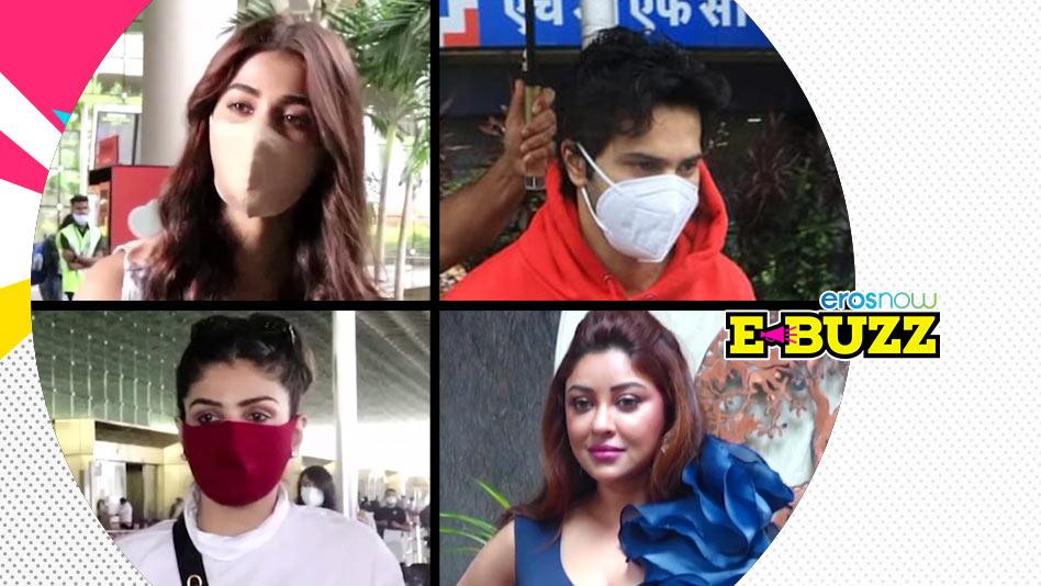 Watch E Buzz - Alia Dubs, Varun Heads Out With Mom, Gauahar Travels on Eros Now