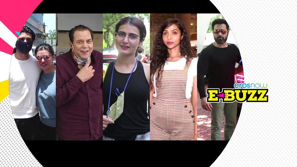 Watch E Buzz - SPOTTED   Fatima Sana Shaikh, Jasmin Bhasin & Emraan Hashmi on Eros Now