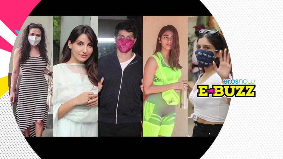 Watch E Buzz - Malaika Arora Dines At Hakkasan, Bhumi Dubs For New Movie on Eros Now