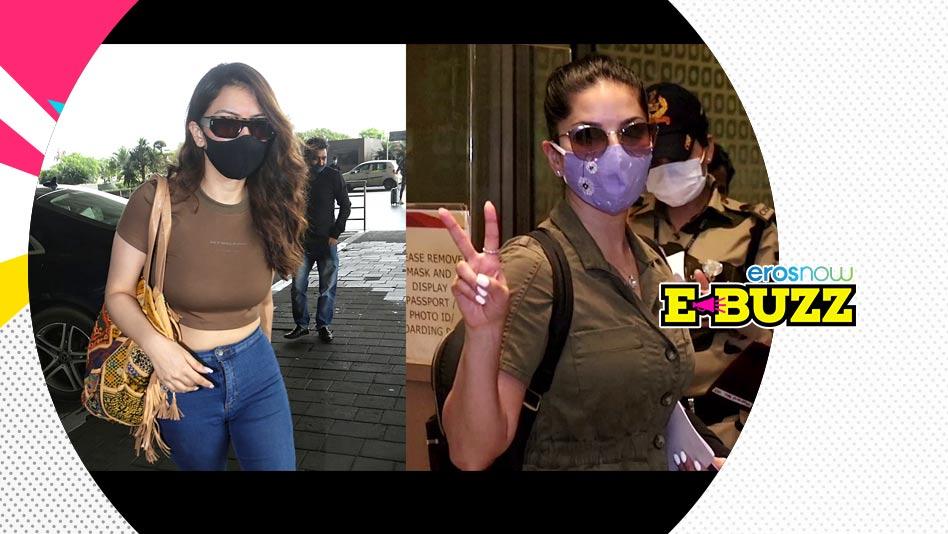 Watch E Buzz - SPOTTED - Sunny Leone, Hansika Motwani, David Dhawan & Rashi Khanna on Eros Now