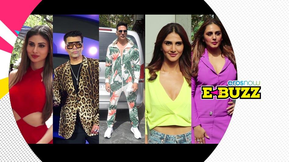 Watch E Buzz - SPOTTED   Akshay Kumar, Madhuri Dixit, Karan Johar & Huma Qureshi on Eros Now