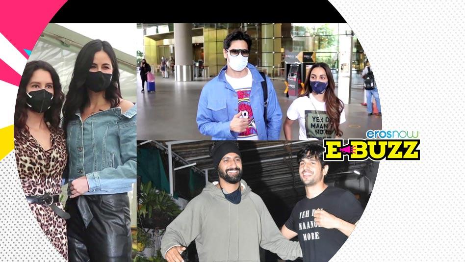Watch E Buzz - SPOTTED   Sidharth Malhotra, Kiara Advani, Aamir Khan & Katrina Kaif on Eros Now
