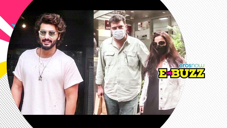 Watch E Buzz - SPOTTED  Arjun Kapoor, Vicky Kaushal, Kartik Aryan & Vidya Balan on Eros Now