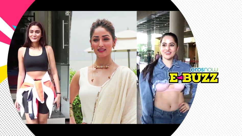 Watch E Buzz - Yami Gautam, Badshah, Tamannaah spotted in Mumbai on Eros Now