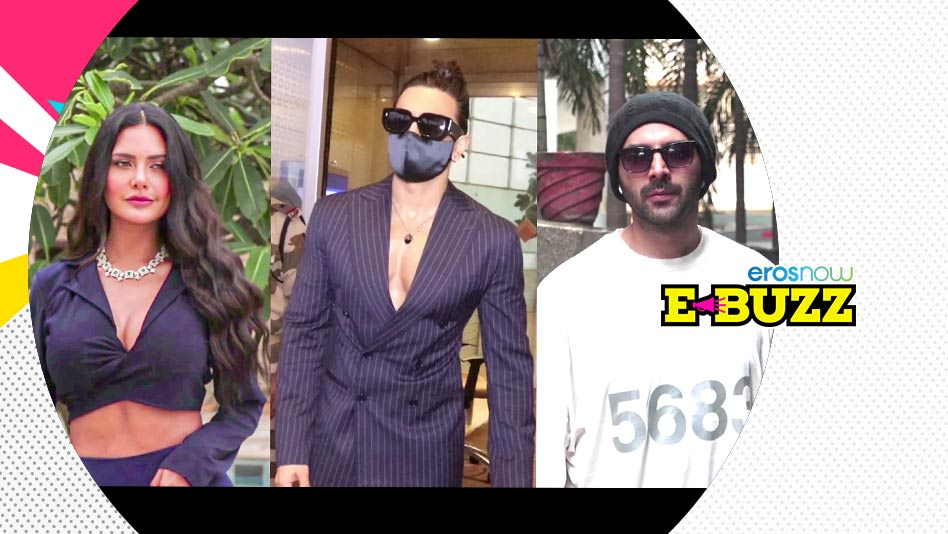 Watch E Buzz - Ranveer, Alia, Kartik and Shraddha snapped by the paparazzi on Eros Now