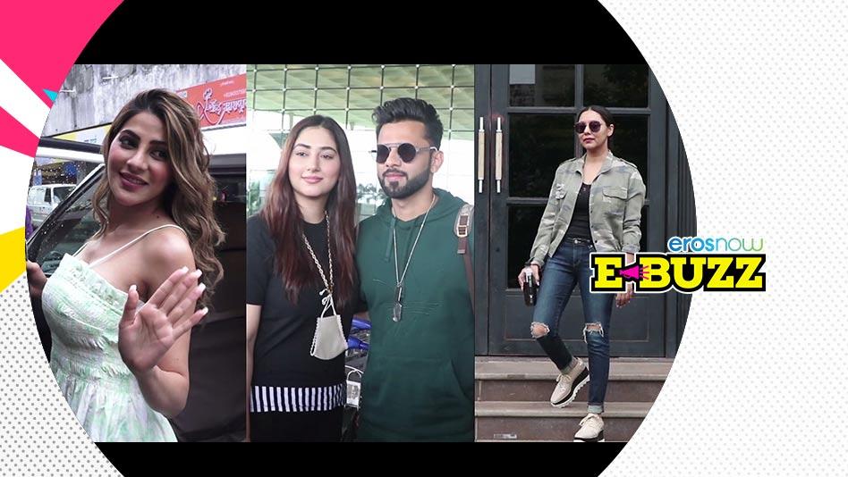 Watch E Buzz - SPOTTED: Gauri Khan, Kartik Aaryan, Nikki Tamboli & Rahul Vaidya on Eros Now