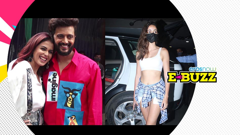 Watch E Buzz - SPOTTED: Kajol, Daisy Shah, Zareen Khan & Riteish Deshmukh on Eros Now