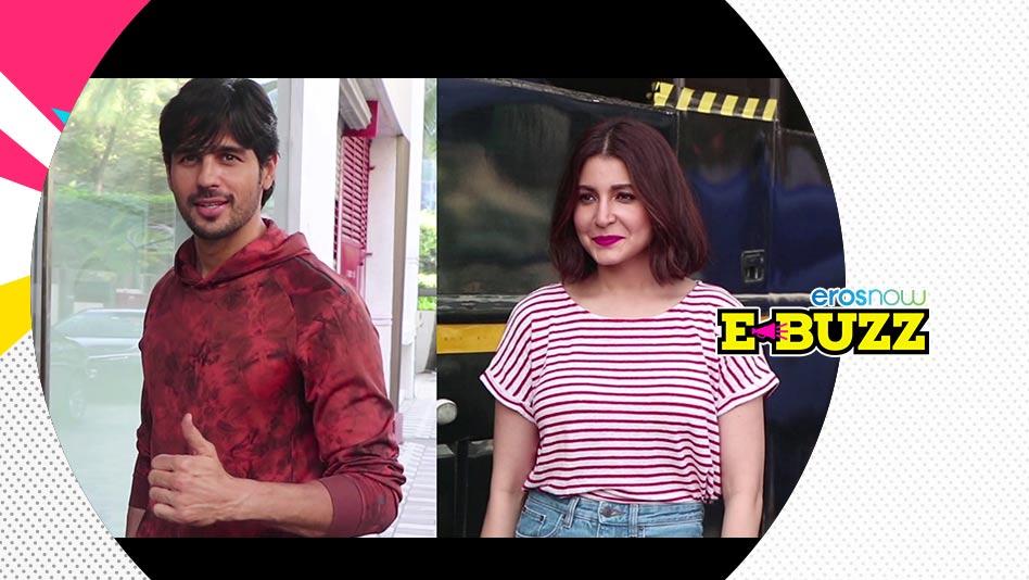 Watch E Buzz - SPOTTED: Shilpa Shetty, Sidharth Malhotra, Anushka Sharma, Shweta Tiwari on Eros Now