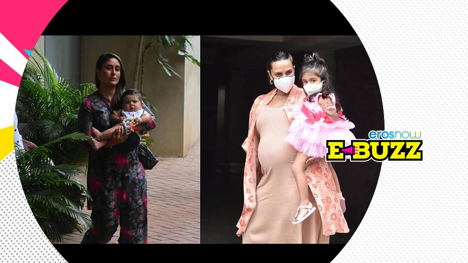 Watch E Buzz - Celebs & Their Little Ones Attend Inaaya Naumi Kemmu's Birthday Party on Eros Now