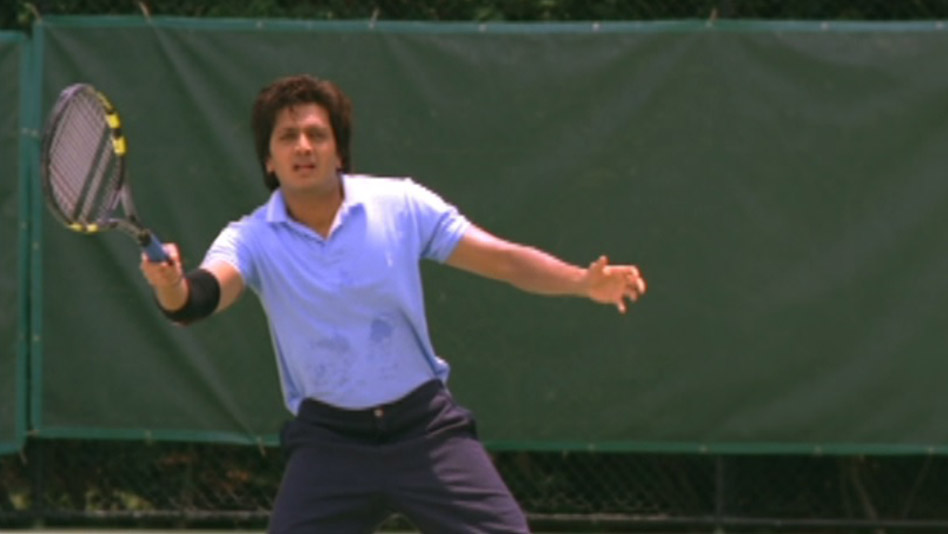 Tennis is not a two player game! - Deleted Scene