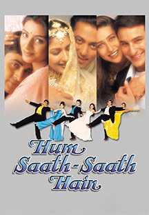 Watch Hum Saath Saath Hain full movie Online - Eros Now