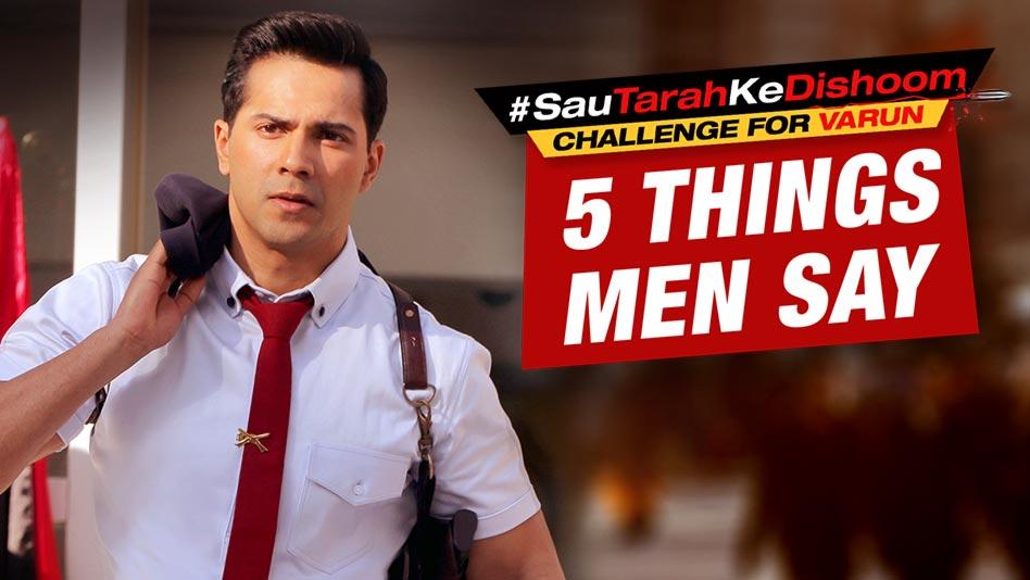 5 Things Men Say