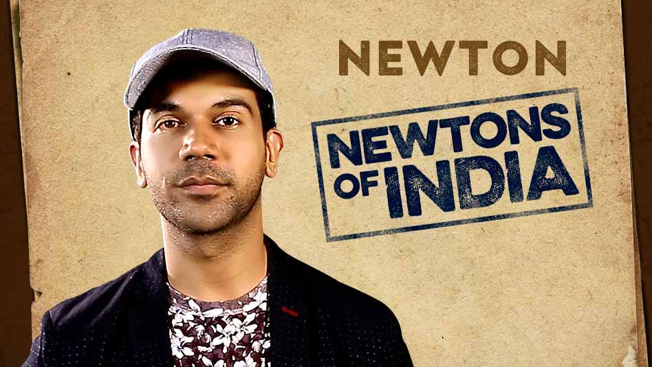Rajkummar Rao celebrates 'Newtons of India'