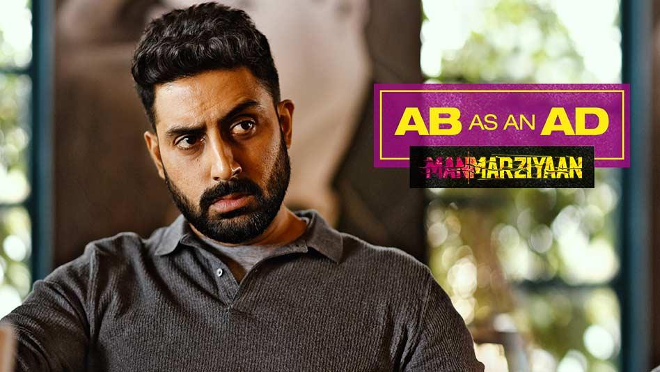 When Abhishek Bachchan turned AD