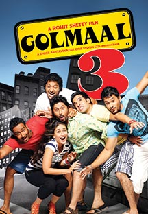 Watch Golmaal 3 - Swahili full movie Online - Eros Now