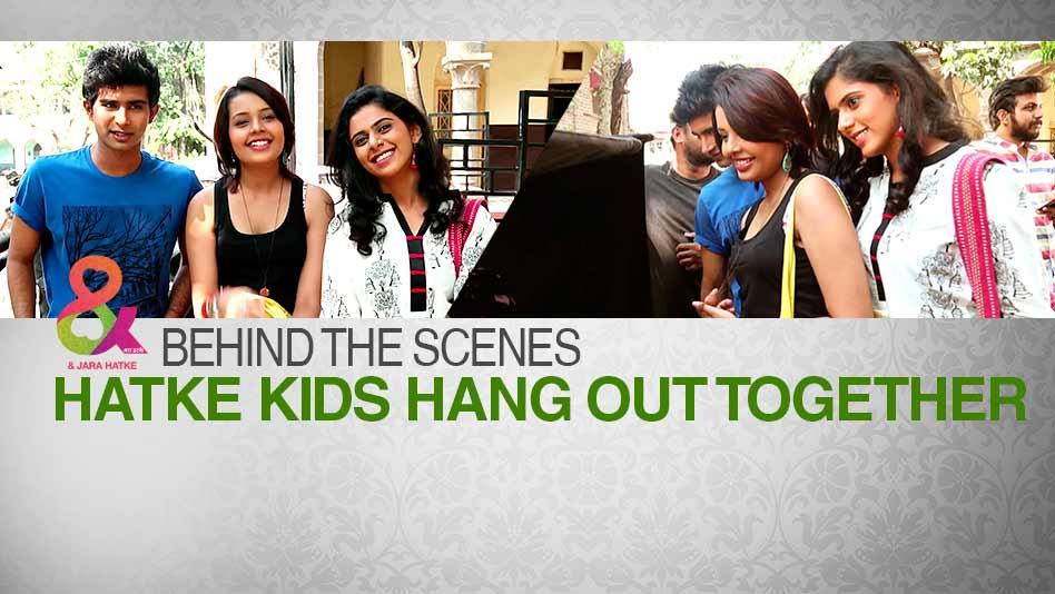 Behind The Scenes - Hatke Kids Hang Out Together