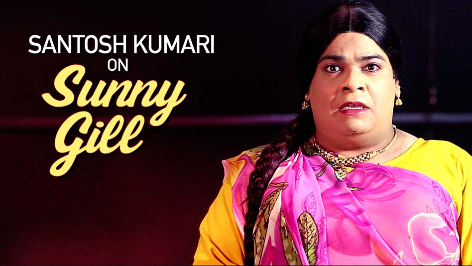 Santosh's Excitement Is XXXL For Sunny Gill