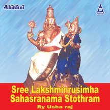 Sree Lakshminrusimha Sahasranama Stothram