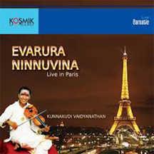 Evarura Ninnuvina Live At Paris