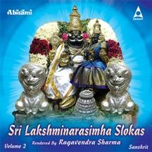 Sri Lakshminarasimha Slokas Vol 2