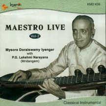Maesteo Live Veenai Doraiswamy Iyengar Vol. 2