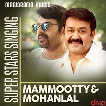 Super Stars Singing Mammootty - Mohanlal