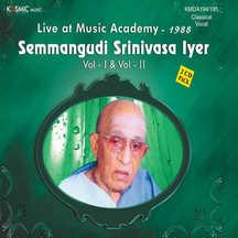 Music Academy Vol. 1 (Live 1988)