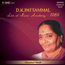 D.K. Pattammal (Live 1989)