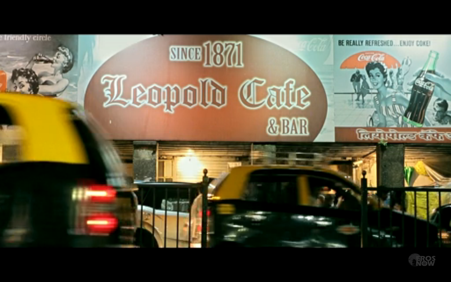 Shootout at Leopold Caf
