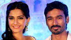 Dhanush and Sonam Kapoor Promoting 'Raanjhanaa'