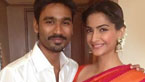 Dhanush and Sonam Kapoor Promote 'Raanjhanaa' In Chennai