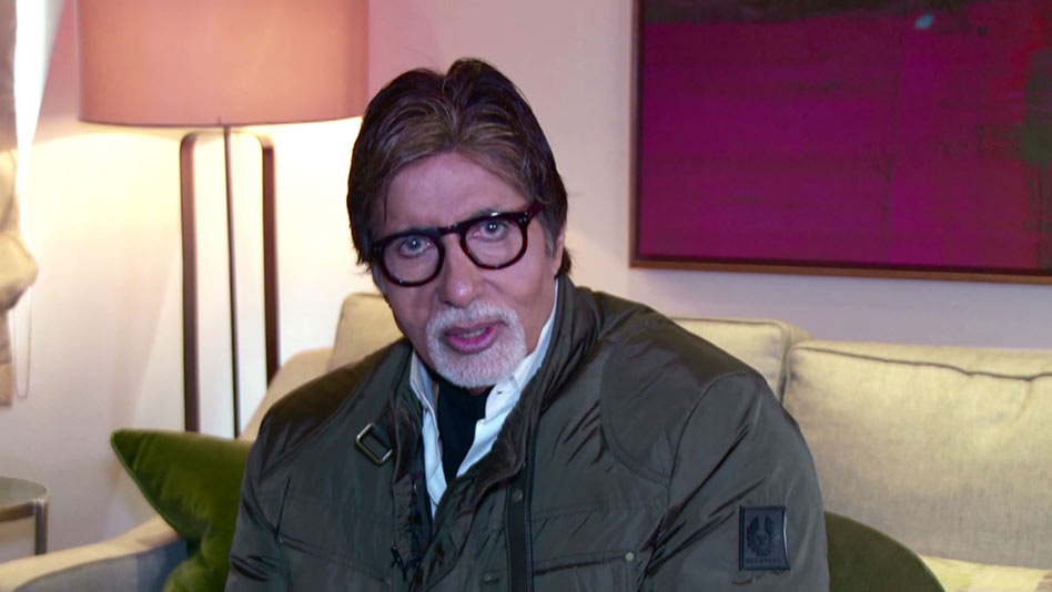 Watch Happy Birthday - Amitabh Bachchan Wishes Abhishek on Eros Now