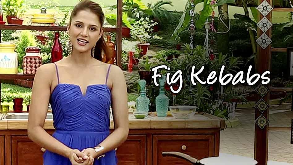 Watch Shipra's Kitchen - Fig Kebabs on Eros Now