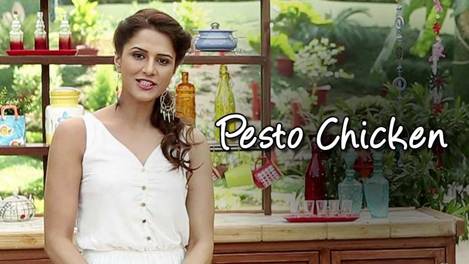 Watch Shipra's Kitchen - Pesto Chicken on Eros Now