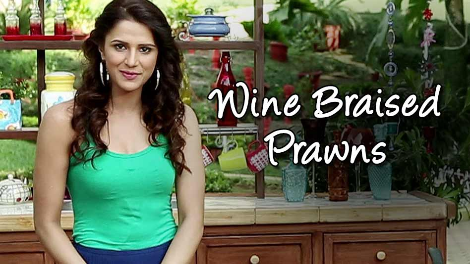 Watch Shipra's Kitchen - Wine Braised Prawns on Eros Now