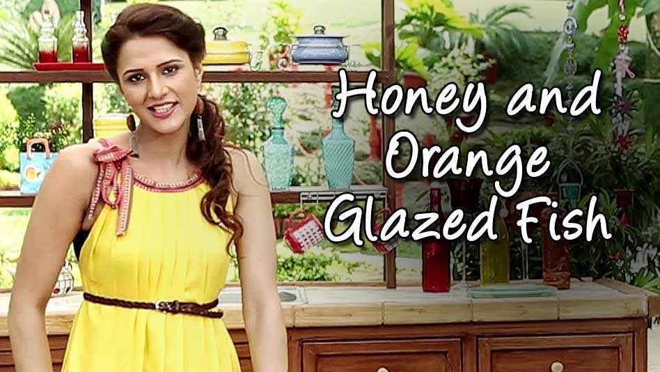 Watch Shipra's Kitchen - Honey and Orange Glazed Fish on Eros Now