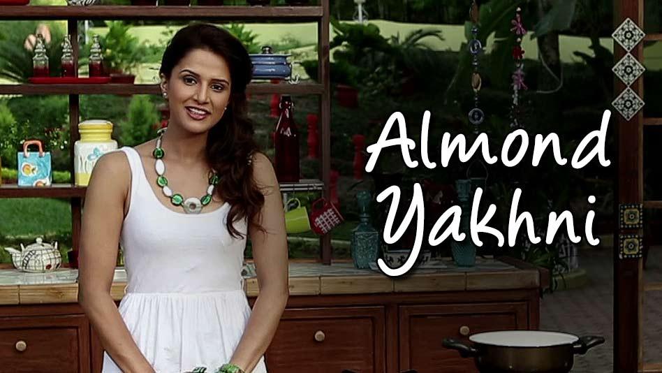 Watch Shipra's Kitchen - Almond Yakhni on Eros Now