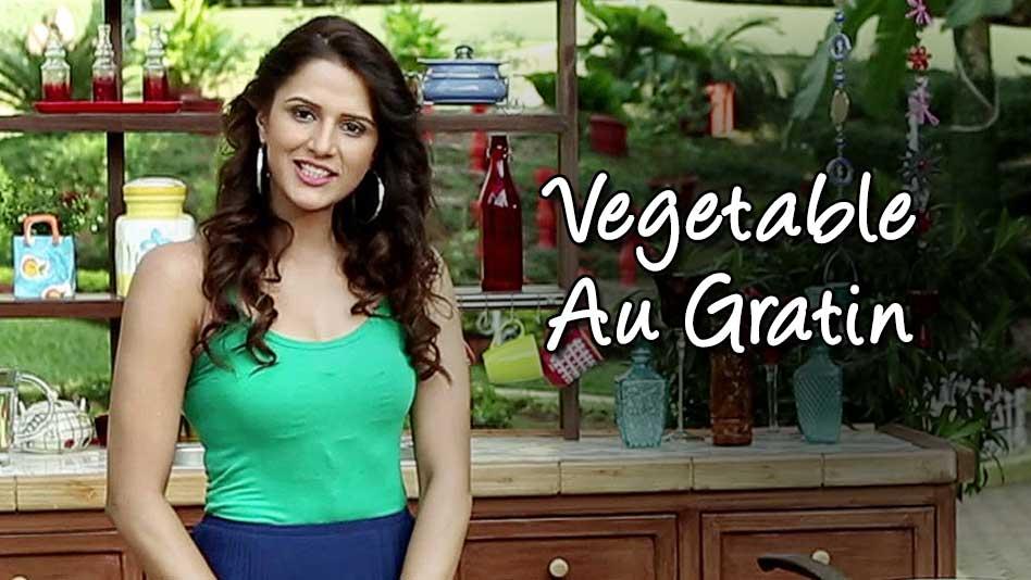Watch Shipra's Kitchen - Vegetable Au Gratin on Eros Now