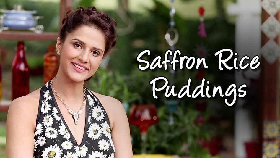 Watch Shipra's Kitchen - Saffron Rice Puddings on Eros Now