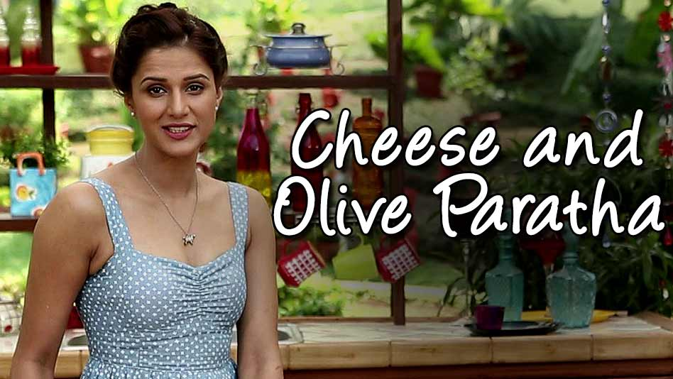 Watch Shipra's Kitchen - Cheese and Olive Paratha on Eros Now