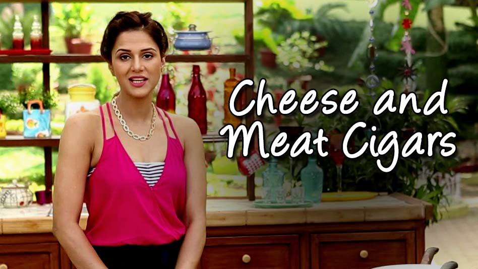 Watch Shipra's Kitchen - Cheese and Meat Cigars on Eros Now