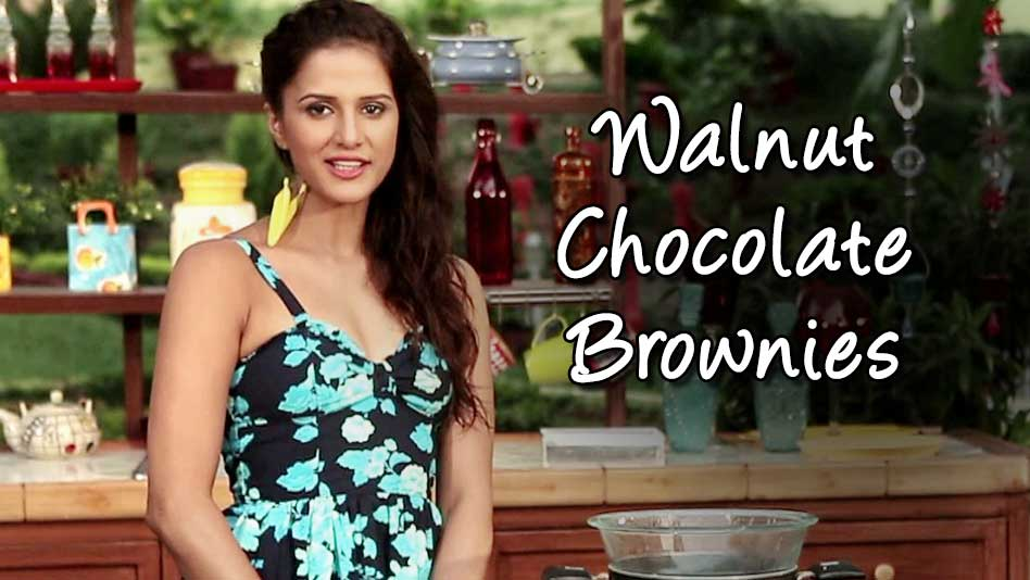 Watch Shipra's Kitchen - Walnut Chocolate Brownies on Eros Now