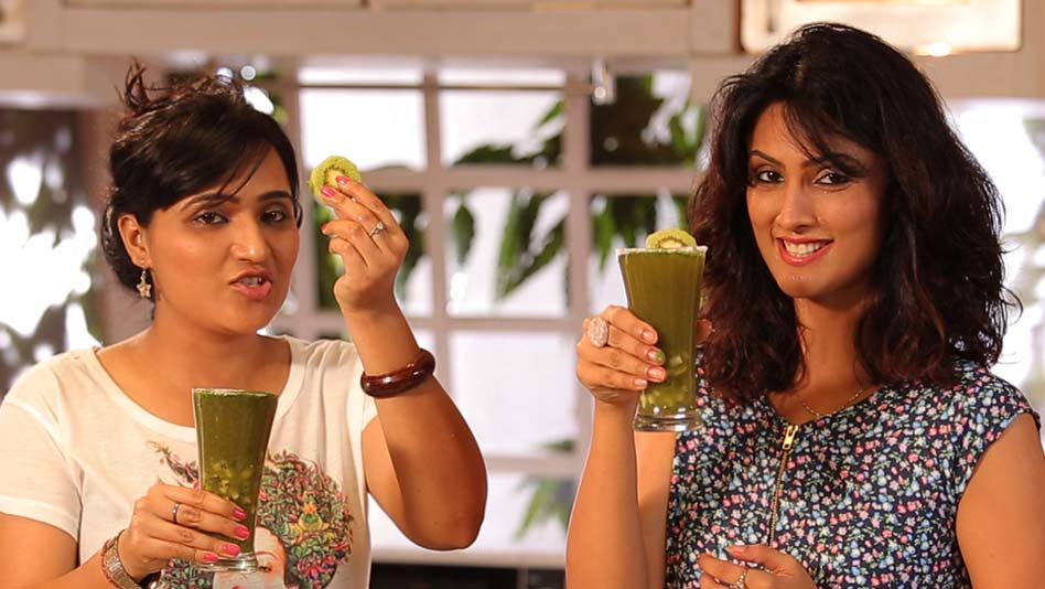 Watch Kitchen Politics - Kiwi Jaljeera Drink on Eros Now