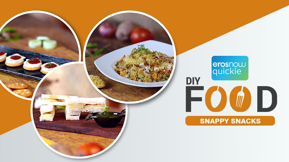 Watch DIY Food - Snappy Snacks on Eros Now